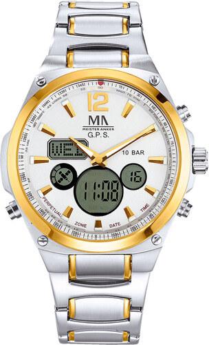 da9bd83c49b Rádiem řízené hodinky Meister Anker bicolor - Glami.cz