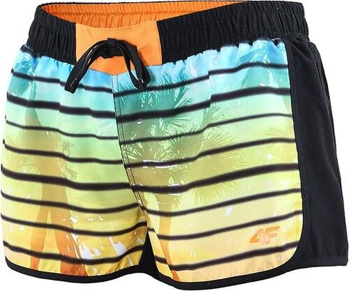 f3bb945707e7 4F Dámske športové šortky Hawai ČIERNA - Glami.sk