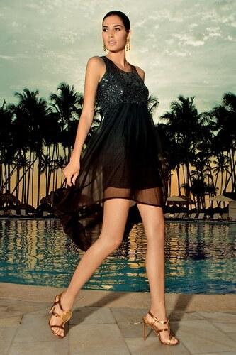 a88093760a76 Dámske luxusné šaty z talianskej kolekcie Iconique čierna - Glami.sk