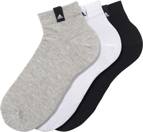 f5fcff447ec adidas Performance Pánské ponožky adidas Per La Ankle 3 páry COLLEGE NAVY