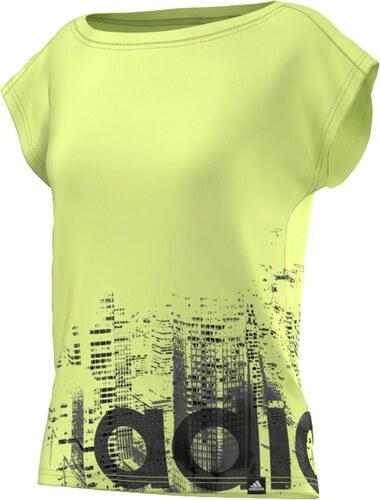97ed790b860 adidas Performance Dámské tričko adidas NYC 2XS SEFRYE - Glami.cz