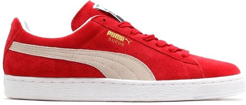-32% Pánské boty Puma Suede Classic+ team regal red- regal red-white 62f57698dd3