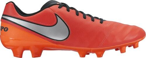cd73f6aef Pánské kopačky Nike TIEMPO GENIO II LEATHER FG LT CRMSN/MTLLC SLVR-TTL CRMSN