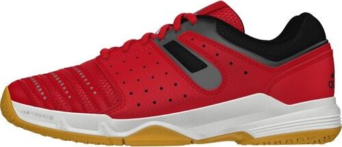 buy online 0fd1e aca9f adidas Performance Dětská sálová obuv adidas Court stabil J  VIVREDFTWWHTNGTMET
