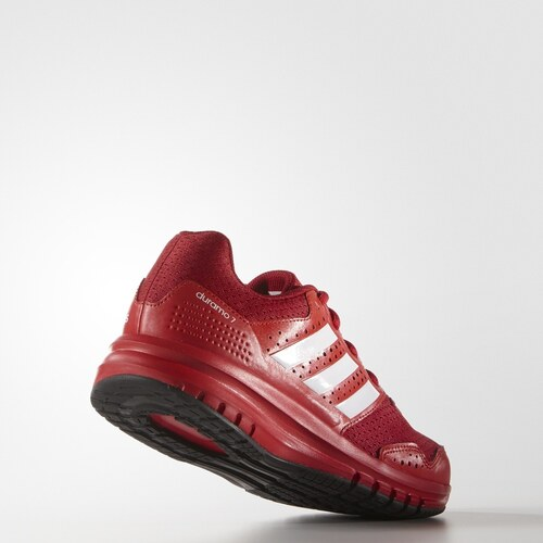 adidas Performance Dětské běžecké boty adidas Duramo 7 k  POWRED FTWWHT VIVRED 509367d72d