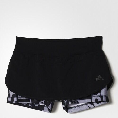 bc8c77ba254 adidas Performance Dámské kraťasy adidas TOP SKORT BLACK - Glami.cz