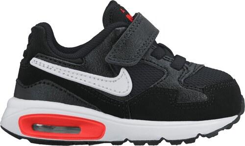 Dětské boty Nike AIR MAX ST (TDV) BLACK WHITE-TOTAL CRIMSON-DK P ... b50442c188