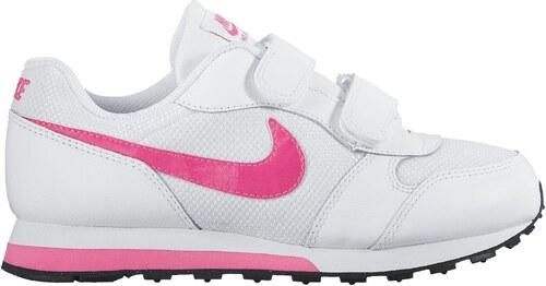 9acb155863f Dětské boty Nike MD RUNNER 2 (PSV) WHITE HYPER PINK-BLACK - Glami.cz