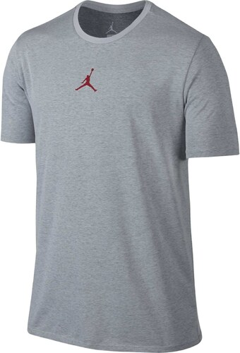 Pánské tričko Jordan MOTION DRI-FIT TEE 2XL WHITE BLACK GYM RED ... 7beb8eb608