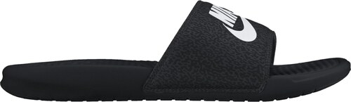 Pánské nazouváky Nike BENASSI JDI PRINT BLACK WHITE-ANTHRACITE ... 3bea5b44d6