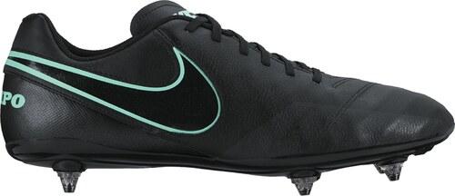 b8994c4a9 Pánské kopačky Nike TIEMPO GENIO II LEATHER SG BLACK/BLACK - Glami.sk