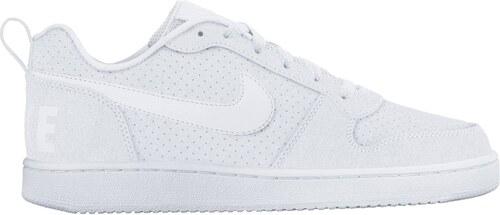 half off b5906 b1b83 Dámské boty Nike WMNS Court Borough Low bílé WHITE WHITE-WHITE