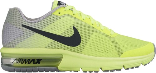Dětské boty Nike AIR MAX SEQUENT (GS) VOLT BLACK-WOLF GREY - Glami.cz d747ff95422