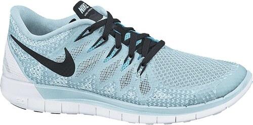 Dámské běžecké boty Nike WMNS FREE 5.0 ICE CUBE BLUE BLACK-CLEARWATER b3ad81e858