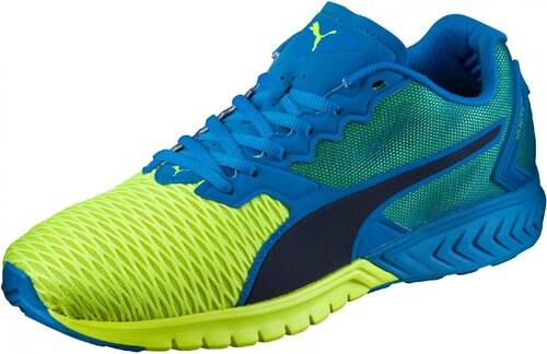 Pánské běžecké boty Puma IGNITE Dual Electric Blue Lemo - Glami.cz 980b3568755