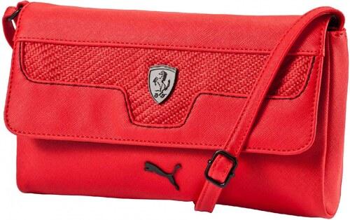 e5b6f89775 Dámská taška Puma Ferrari Ferrari LS Small Satchel Rosso - Glami.sk