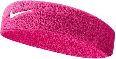 Dámská růžová čelenka Nike Swoosh Headband VIVID PINK WHITE - Glami.cz 0976d4c5f3