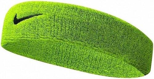 Zelená čelenka Nike Swoosh Headband - Glami.cz e2715acb64