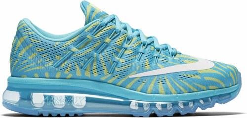 f92a35f78fe Dámské boty Nike WMNS AIR MAX 2016 PRINT modré GAMMA BLUE WHITE-GHOST GREEN