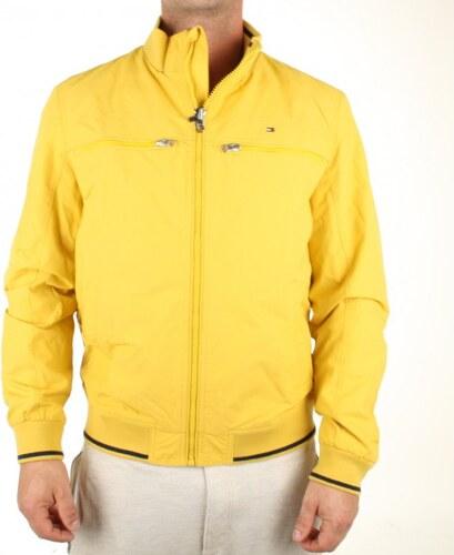 Tommy Hilfiger pánská žlutá bunda Matthew - Glami.cz ebc158822b9