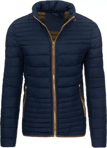 cdd4768814 Elegantná pánska zimná bunda v granátovej farbe - Glami.sk