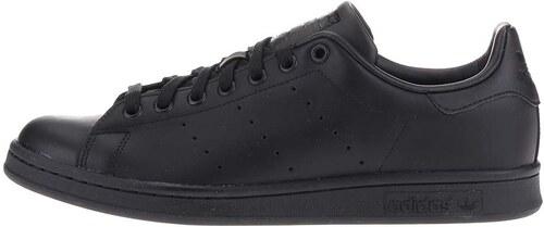 Černé pánské kožené tenisky adidas Originals Stan Smith - Glami.cz aee0b2e67b