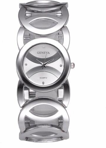 Dámské hodinky Geneva G3809 - stříbrná - Glami.cz 9c54ec5d291