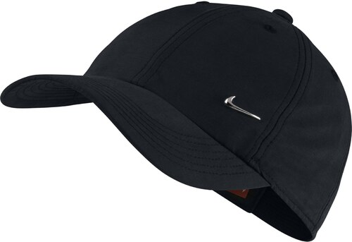 13c2e1692ce -22% Dětská čepice Nike Y NK H86 CAP METAL SWOOSH BLACK METALLIC SILVER