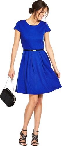 7ad0a5ceb02a CLOSET Kráľovsky modré šaty áčkového strihu - Glami.sk