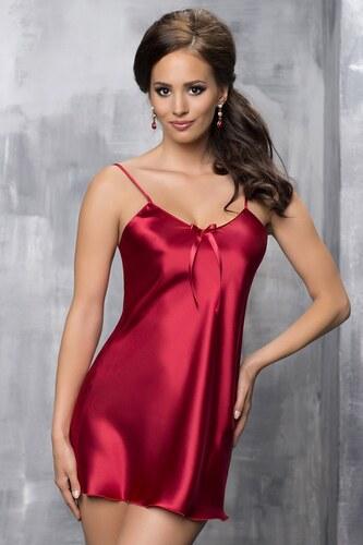 Irall Aria Burgundy elegáns hálóing piros - Glami.hu a981a70550