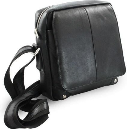 Kožená pánská taška Arwel černá vycházková - Glami.cz f5cce07a32