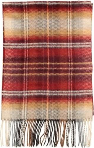 fcea5c2d623 Willsoor Tenká šála (vzor 194) 7309 v červené barvě - Glami.cz