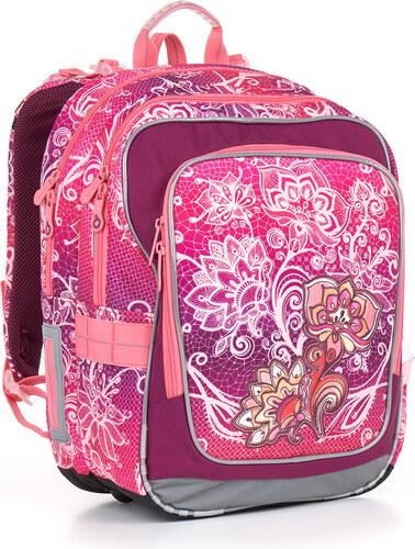 c42d90e22e9 Školní batoh CHI 863 H pink- Doprava zdarma