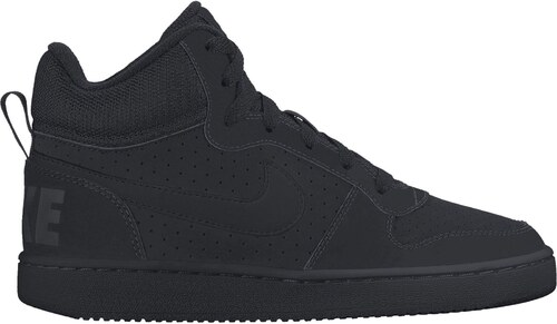 Dětské tenisky Nike COURT BOROUGH MID (GS) BLACK BLACK-BLACK - Glami.sk 57687395176