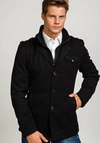 Černý pánský zimní kabát Bolf 8853 - Glami.cz 7a1367c6351