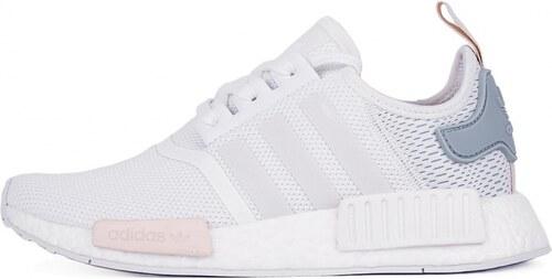 Sneakers - tenisky Adidas Originals NMD R1 Footwear White   Tactile Green 26259dfb65d