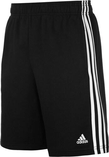 Teplákové kraťasy adidas Essential 3 Stripe pán. černá - Glami.cz 12fe56b83a