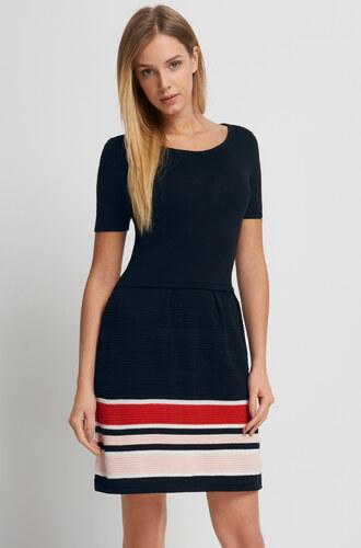 0f71615f8874 Orsay Šaty s pruhovanou sukňou a krátkymi rukávmi - Glami.sk