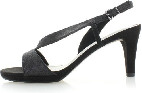 5100499e9e Čierne sandále Tamaris 28336 - Glami.sk