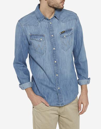 Wrangler pánská džínová košile Western W5833O64E - Glami.cz cd1f3873a7