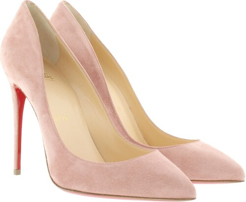 louboutin femme escarpin rose