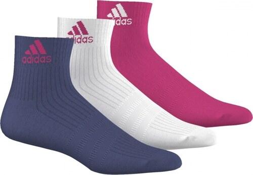 Ponožky adidas Performance 3S PER AN HC 3P (Fialová   Bílá   Růžová ... 958924ecc0