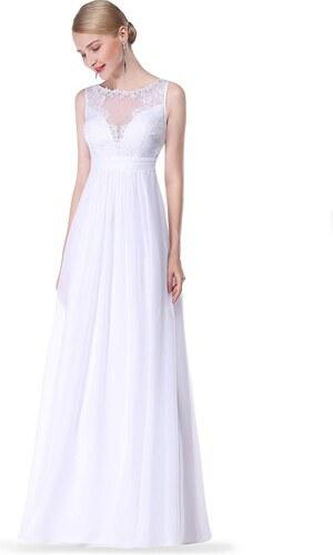 e344707692ad Ever Pretty jemné svatební šaty bílé 8715 - Glami.cz
