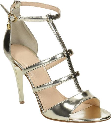 dd421b88be4e Baťa Zlaté kožené sandálky - Glami.sk