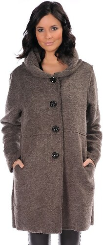 Special Coats Dámsky kabát MANTEAU LAMA CHOCO - Glami.sk add792d0065