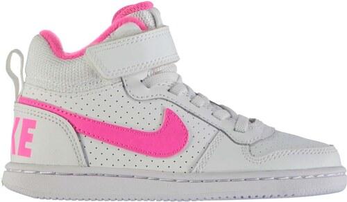 Členkové tenisky Nike Court Borough det. biela ružová - Glami.sk 77db408f8a