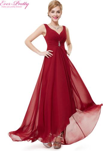 9e06a0e047c2 Ever Pretty plesové a společenské šaty HE09983 bordó - Glami.cz