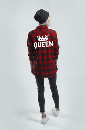 67c09dc0f5d ForQueen Košile Queen Crown RED  KQ  - Glami.cz
