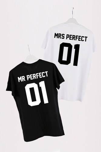 ac230a4481 ForQueen Set triček Perfect Couple Black + White - Glami.cz