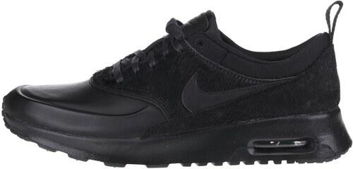 Čierne dámske tenisky Nike Air Max Thea Premium - Glami.sk e9da628eb5